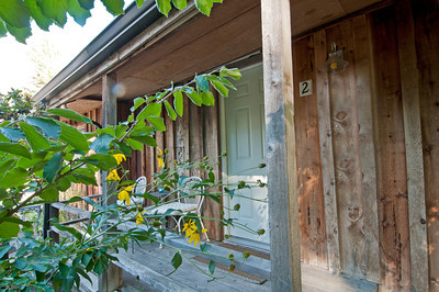 rustic outside view